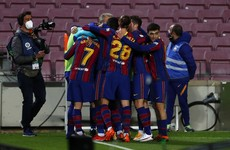 Stunning Messi free-kick helps Barca to victory but Atletico go 10 points clear at top of La Liga