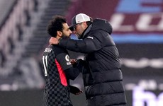 'Super smart' and 'world class' - Klopp hails Salah as he ends league goal drought in style