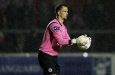Goalkeeper Brush joins Sligo Rovers 15 years on from first signing for the club