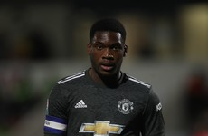 Manchester United teenager joins Derby on loan