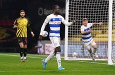 Substitute Adomah hits late winner as QPR stun promotion-chasers Watford