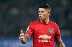 After over 6 years and 122 appearances, Marcos Rojo leaves Man United