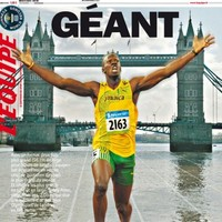 'The biggest newspaper in the world' — L'Equipe produce giant edition to mark London 2012