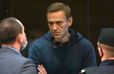 Russian opposition leader Alexei Navalny ordered to prison by Moscow court