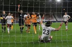 David Luiz and Bernd Leno sent off as nine-man Arsenal self-destruct at Wolves