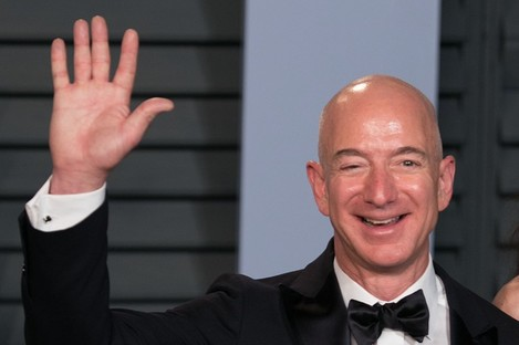 File image of Jeff Bezos.