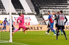 Gary Cahill on target with the winner as Palace bounce back to beat Newcastle