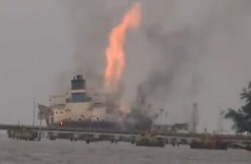 Lightning blamed for Malaysian tanker explosion