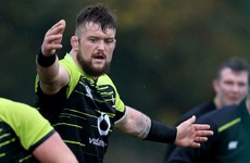 'I'm definitely trying to nail down that spot' - Porter determined to continue at tighthead