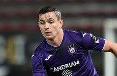 Anderlecht allay concerns over injury to Ireland midfielder Josh Cullen