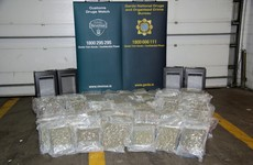 Two arrests made after €2.58 million worth of cannabis herb seized in Dublin