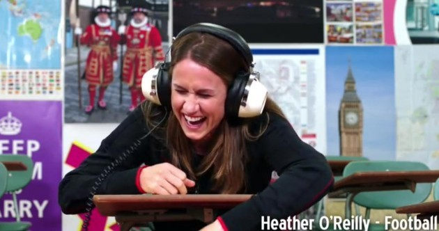 US athletes learn Cockney rhyming slang in time for London 2012 - video