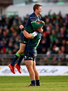 150 not out for Carty and Bealham as Connacht set off on 'must-win' Wales mission