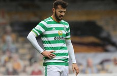 Celtic striker could be punished for diving