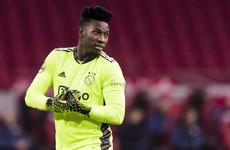 Ajax goalkeeper Onana handed 12-month ban following failed doping test