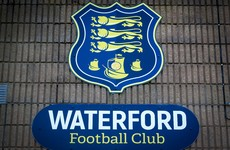 Waterford express disappointment as they withdraw from Uefa Youth League
