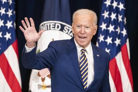 US President Joe Biden pictured last week.