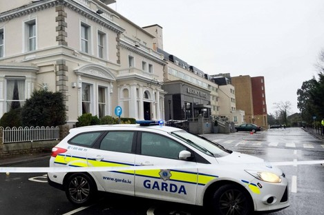 The Regency Hotel in Dublin.