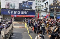 Myanmar junta blocks internet access as protests widen over coup