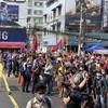 Myanmar junta blocks internet access as protests widen over coup