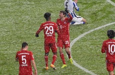 Qatar-bound Bayern Munich establish 10-point Bundesliga lead