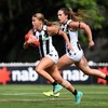 Rowe and Sheridan help Collingwood to maintain perfect start