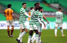 Relief for Neil Lennon as Celtic see off Motherwell after late scare