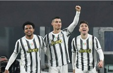 Ronaldo celebrates birthday by helping Juve close gap on Serie A leaders Inter