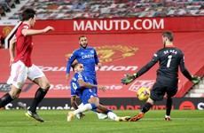 Calvert-Lewin stuns United with last second equaliser in 3-3 thriller