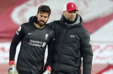 Jurgen Klopp focused on top four after humbling home loss to Manchester City