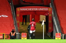 Pogba to be sidelined for a few weeks with thigh injury