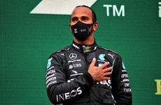Hamilton ends contract saga by signing new one-year deal with Mercedes