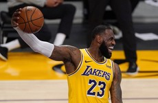 LeBron shines as injury-hit Lakers leave it late