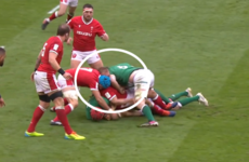 Ireland's O'Mahony to face hearing today following red card against Wales