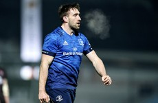 Leinster's Jack Conan called into Ireland squad as France prep continues