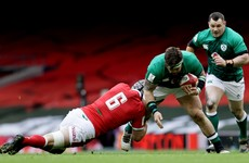 Wales flanker will miss rest of Six Nations after injury against Ireland while prop duo join England squad