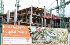 Children's hospital contractor seeking extra claims totalling more than €300 million
