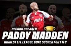 'It's been a long time coming' - Paddy Madden becomes League One club's all-time EFL top goalscorer