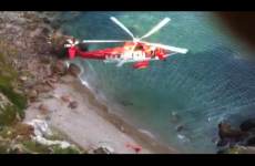 Cliff faller rescued on Howth head