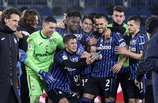 Atalanta dump holders Napoli out of Italian Cup to set-up decider date with Juventus