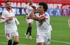 Wondergoal from French youngster sees Sevilla hold semi-final lead over Barcelona after first leg