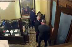 Trump impeachment: New Capitol footage shows police overwhelmed and mob chanting 'hang Mike Pence'