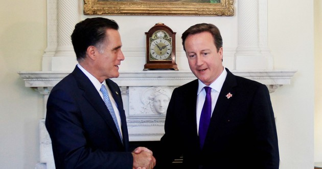 Pics, videos: The gaffes which have marred Mitt Romney's London visit