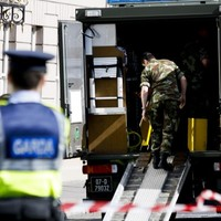 Controlled explosion carried out on chemical discovered at Cork school