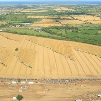 Hundreds of harvesters combine for Guinness World Record attempt