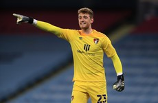 Ireland goalkeeper Travers is recalled to Championship from loan spell in League One