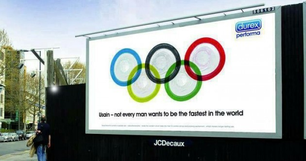 Here's your 'best unofficial Olympic billboard ad' pic of the day