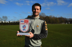 'The magic hasn't stopped' - Wes Hoolahan wins Player of the Month award