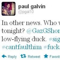 Tweet Sweeper: Paul Galvin is worried for low-flying ducks