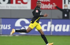 Dortmund could turn to 16-year-old in search of goals